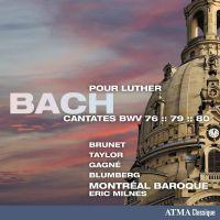 ACD22407. JS BACH Cantatas 76, 79, 80