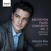 SIGCD525. BEETHOVEN Piano Concerto No 5 (Bax)