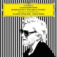 483 5539GH. BERNSTEIN Symphony No 2, 'The Age of Anxiety'  (Rattle)