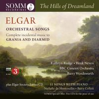 SOMMCD271-2. ELGAR The Hills of Dreamland: Orchestral Songs