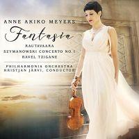 AV2385. SZYMANOWKSI Violin Concerto No 1 RAUTAVAARA Fantasia