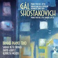 AV2390. GÁL; SHOSTAKOVICH Piano Trios