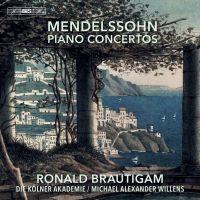 BIS2264. MENDELSSOHN Piano Concertos (Brautigam)