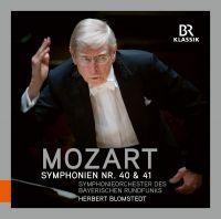 900164. MOZART Symphonies Nos 40 & 41 (Blomstedt)