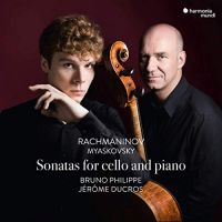 HMM90 2340. MYASKOVSKY; RACHMANINOV Cello Sonatas