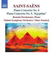 8 573478. SAINT-SAËNS Piano Concertos Nos 4 & 5 (Descharmes)