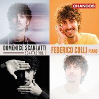 CHAN10988. D SCARLATTI Sonatas Vol 1 (Federico Colli)