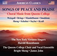 8 559819. Songs of Peace and Praise: Choral Music from Queens College